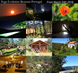 yoga retreats march